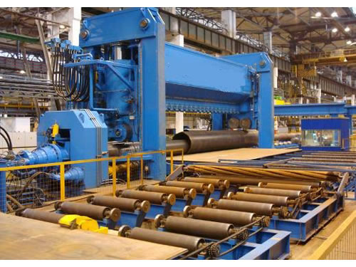 Oil and Gas Pipe Rolling Machine