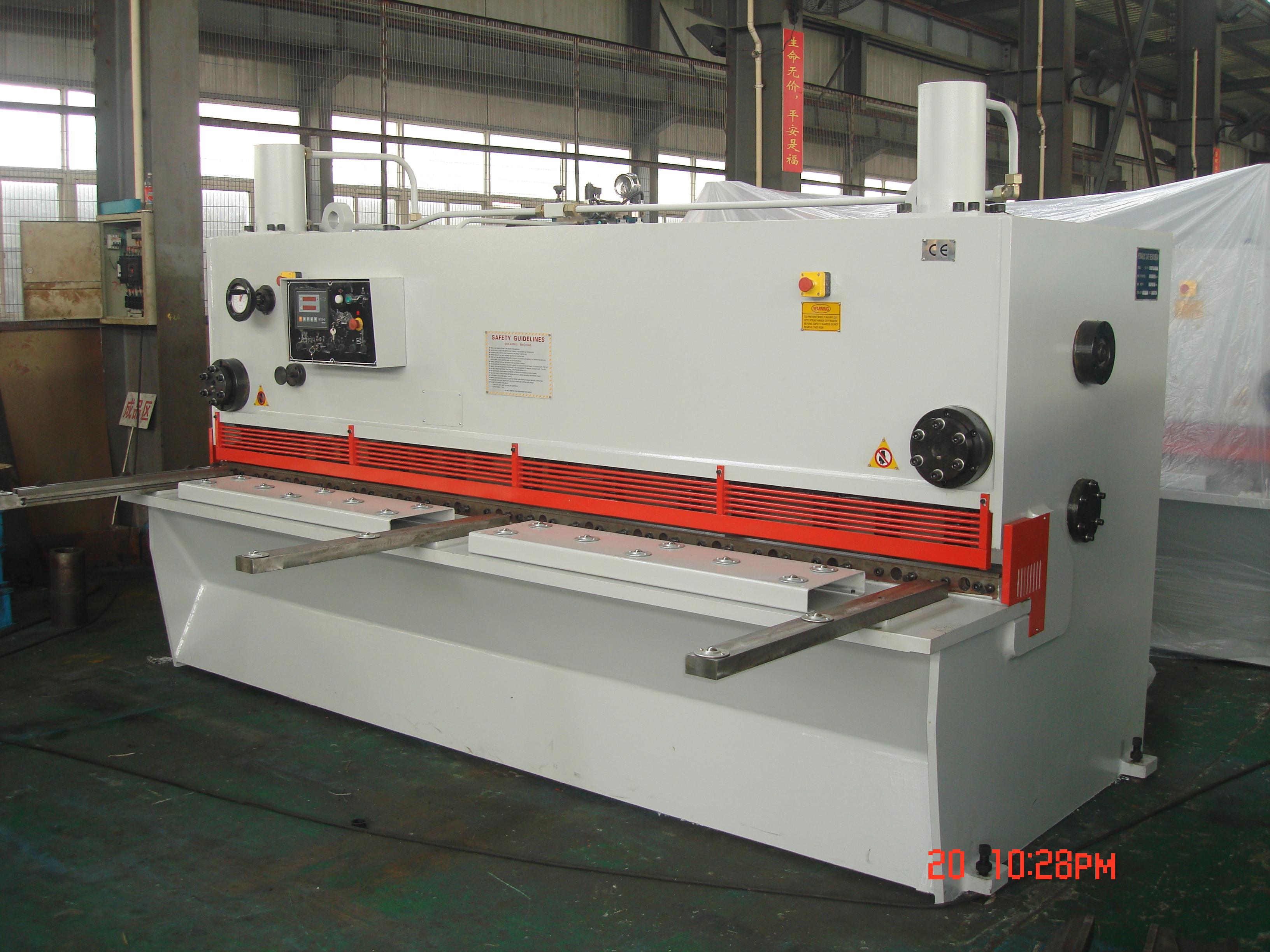 Hydraulic Guillotine Shearing Machinery China Hydraulic